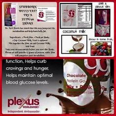 Target Unwanted Belly Fat!! *~Our Popular Vanilla Plexus 96 is back in stock! *Take the Plexus 96 30 day Challenge and start your day off right with a Plexus 96 shake mixed with coconut milk (So Delicious), Plexus slim, fresh fruit and coconut milk witch helps burn that unwanted belly fat just in time for summer!!!