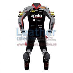 Shop Aprilia Leathers | Leon Haslam 2015 WSBK Racing Leathers - https://www.leathercollection.us/en-we/leon-haslam-aprilia-2015-wsbk-racing-leathers.html