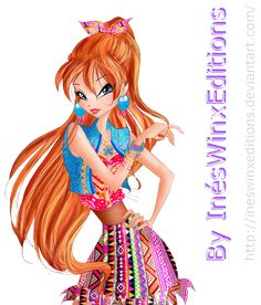 Bloom Etno Chic Fairy Couture - Winx Club 7 by InesWinxEditions on DeviantArt