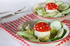 KIDS: paddenstoelensalade