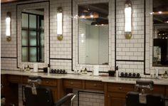 Lighting and framing around mirrors