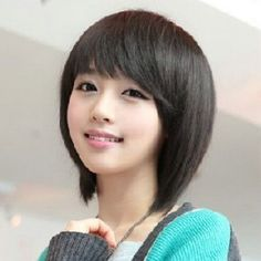 Short Hairstyles For Girls With Bangs - Short Hairstyles Fashion
