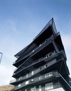 Ginko Eco-Neighbourhood Housing,© Philippe Ruault