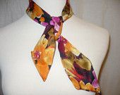 Beautiful scarflette.  Please visit my online store for more accessories!