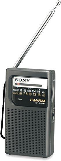 Radio portatil Sony negra ICFS10MK2B #geek #tecnologia #oferta #regalo #novedades Visita http://www.blogtecnologia.es/producto/radio-portatil-sony-negra-icfs10mk2b