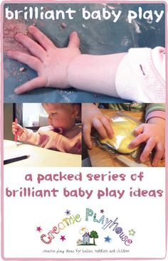 Creative Playhouse: Brilliant Baby Play Infant Activities, Activities For Kids, Activity Ideas, Sensory Activities, Educational Activities, Preschool Ideas, Classroom Activities, Teaching Ideas, Baby Play