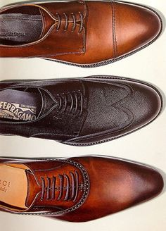 Which shoes would you rather? #shoes. I'm for the Ferragamo pair.