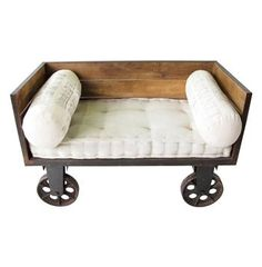 Limoges French Industrial Small Sofa Cart #Kathykuohome