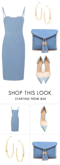 """""""Blue Baby"""" by nash-styles ❤ liked on Polyvore featuring Acne Studios, Gianvito Rossi, Lana and Urban Expressions"""