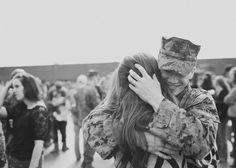 I melt when I'm hugged like this!