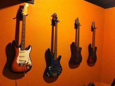 Hanging Guitars