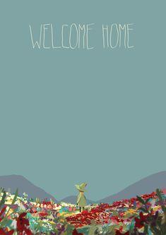 snufkin posts - Or just avril or gaël Moomin Wallpaper, I Wallpaper, Les Moomins, Moomin Valley, Tove Jansson, Title Card, Art Inspo, Illustration, Cool Art