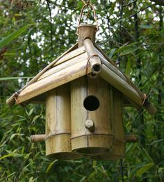 Birdhouse Design Ideas find this pin and more on backyard ideas Bamboo Birdhouse Bamboo For Birds Birdhouse Designsbirdhouse Ideasrustic