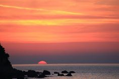 Caprese Sunset  by Laura Sorina -  Click on the image to enlarge.