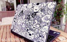 doodle laptop