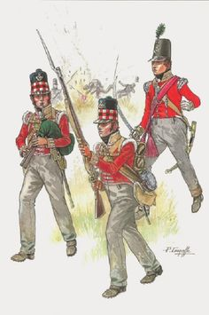 Best Uniform - Page 208 - Armchair General and HistoryNet The Best Forums in History British Army Uniform, British Uniforms, British Soldier, Military Art, Military History, Military Insignia, Military Fashion, Bataille De Waterloo, Best Uniforms