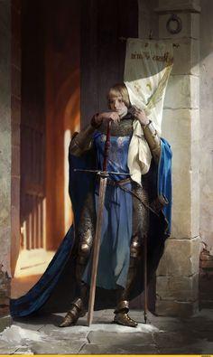 красивые-картинки-Tatyana-Latypova-art-девушка-жанна-Д'арк-3816140.jpeg (1500×2515)