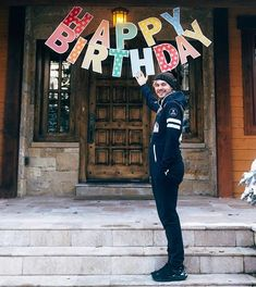 Birthday Surprise For Husband, Happy Birthday Friend, Happy Birthday Sister, Happy Birthday Images, Michael Clifford, Mikey Clifford, 5sos, Yoga Routine, Yoga Fitness