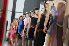 Christopher Kane Spring 2016 Ready-to-Wear Atmosphere and Candid Photos - Vogue