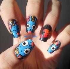 Fairy Tail Happy Nails