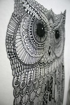 So the owl thing is getting to be a little overdone... but I love this illustration nonetheless!