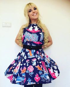 """""""Look at this gorgeous #Magic #Moomin dress made out of Finlayson duvets by Lucrezia!"""""""