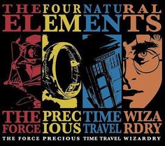 The Four Natural Elements: Force, Wizardry, Time Travel, Precious