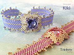 Beading pattern for bracelet 'Kiki'