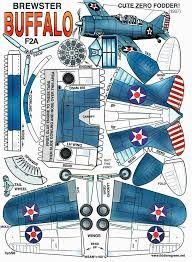 Image result for aviones para recortar y armar