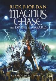 """Read """"Magnus Chase and the Gods of Asgard, Book The Ship of the Dead"""" by Rick Riordan available from Rakuten Kobo. Magnus Chase, a once-homeless teen, is a resident of the Hotel Valhalla and one of Odin's chosen warriors. As the son of. Rick Riordan Bücher, Rick Riordan Books, New Books, Good Books, Books To Read, Children's Books, Library Books, Fiction Books, Magnus Chase Books"""