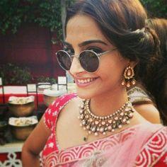 Sonam Kapur ~ her fetish for Silver Jewellery.