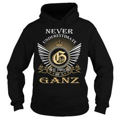 Never Underestimate The Power of a GANZ - Last Name, Surname T-Shirt https://www.sunfrog.com/Names/Never-Underestimate-The-Power-of-a-GANZ--Last-Name-Surname-T-Shirt-Black-Hoodie.html?46568