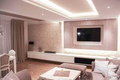 Salon (De Patryk Kowalski Architektura i projektowanie wnętrz)