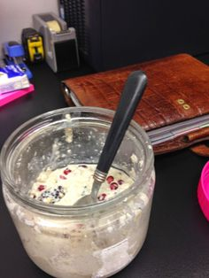 Delicious Overnight Oats at kitch&closet.blogspot.nl