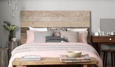 Sänggavel - trä
