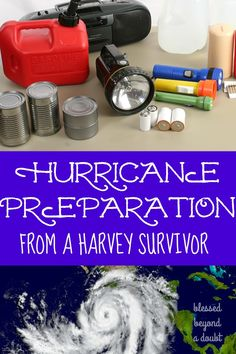 10 Things to do to Prepare for Hurricane Season - Blessed Beyond A Doubt We are survivors of Harvey. I compiled a hurricane prep list to help your family be safe during hurricane season. This year we feel at ease since we are prepared for the worse. Emergency Preparedness Binder, Hurricane Preparedness Kit, Emergency Preparation, Disaster Preparedness, Survival Prepping, Survival Skills, Emergency Planning, Hurricane List, Dollar Stores