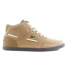 Lacoste Crosier Sail Mid RA LEM Moccasin Fashion Sneaker Shoe - Mens