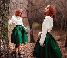 Картинки по запросу пышная юбка миди