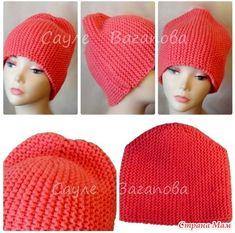 Начинаем он-лайн по вязанию стильной шапки-бини! Меня зовут Сауле Вагапова, в этом он-лайне делюсь своей наработкой по вязанию обновленной модели шапки-бини. Neck Warmer, Baby Knitting, Scarves, Winter Hats, Crochet Hats, Beanie, Crafts, Fashion, Caps Hats