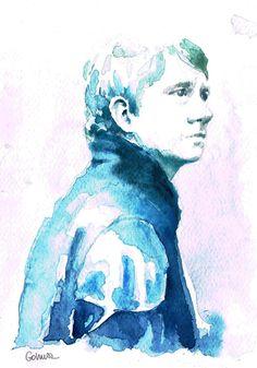 BBC Sherlock Watercolor Fan Art | The Mary Sue