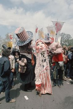 Costumed anti-war demonstrators at the 1971 Vietnam War Out Now protest, Washinton D. Vietnam Protests, Vietnam War Photos, War Image, Typography Inspiration, Washington Dc, American History, Battle, Horror, Costumes