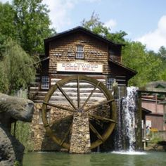 Grist Mill at Dollywood in Tennessee
