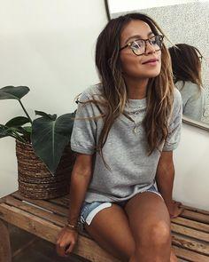 """JULIE SARIÑANA on Instagram: """"Weekend mood: dreamy. ☁️☁️ / Cara sweatshirt @shop_sincerelyjules shopsincerelyjules.com"""""""