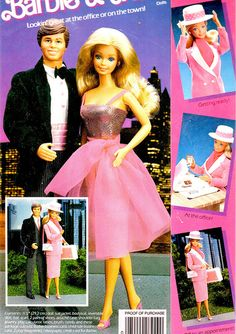 Barbie - Day To Night Barbie packaging