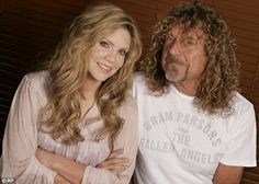 Alison Krauss and Robert Plant 'Recording with Robert Plant was like jumping off a cliff. Robert and I did it to have fun and see what would happen, but to start with it was very scary because both of us were out of our comfort zones'