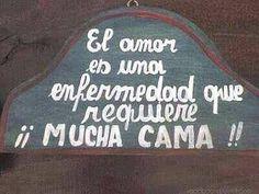 ¡El amor es una enfermedad que requiere MUCHA CAMA! - ∞ Sólo Imagenes de Amor ∞