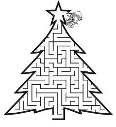 Christmas Tree Dot-to-Dot | Worksheets, Christmas Trees and Math ...