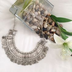 Vintage Boho Coin Statement Necklace Pendant Gorgeous Vintage Bohemian Coin Statement Necklace Pendant PLEASE DONT PURCHASE THIS LISTING Let me know and I'll make you one Boutique Jewelry Necklaces