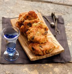 Chick Pea Fritters from Rhodes / Pitaroudia - can also be made with yellow split peas
