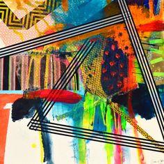 Vibrant Colors, Colours, Mark Making, Wearable Art, Design Inspiration, Artist, Prints, Painting, Vivid Colors